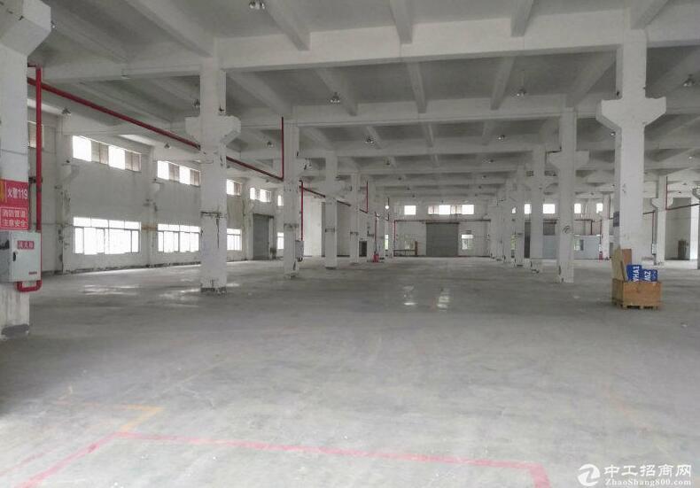 江北 港城工业园1600平一楼框架厂房