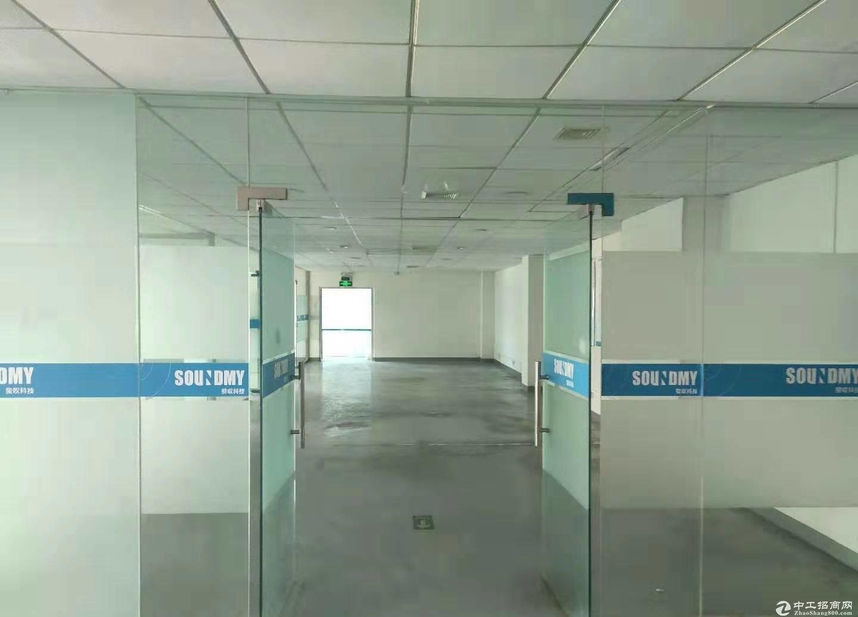 平湖原房东富民工业区二楼2000平米厂房,仓库出租可分租