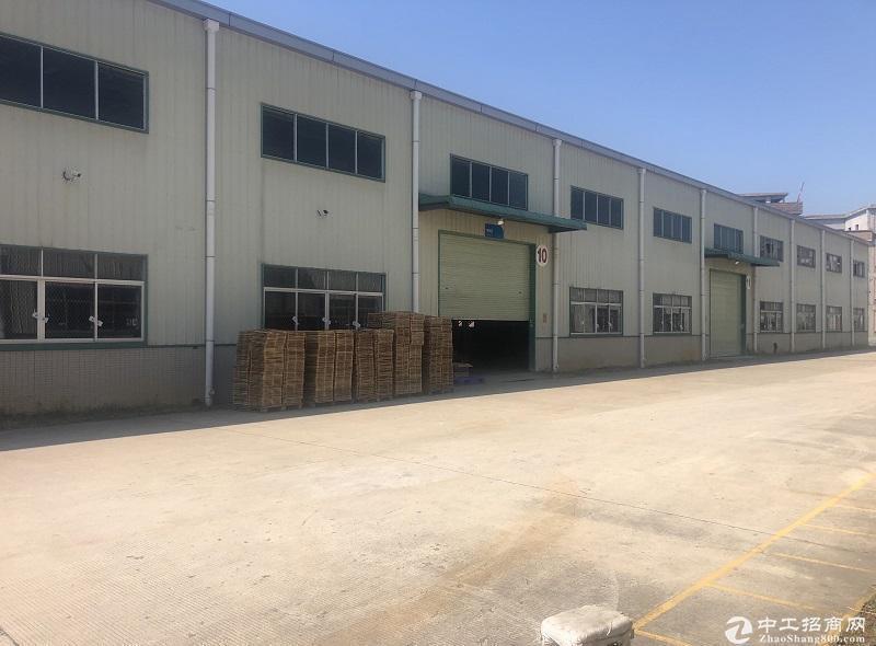 广东中山东区工业园区3200平钢构厂房仓库出租可分租可办环评