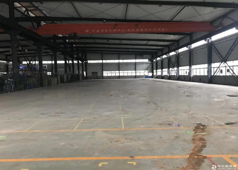 出租鱼洞附近珞璜工业园3000平带10吨行车厂房