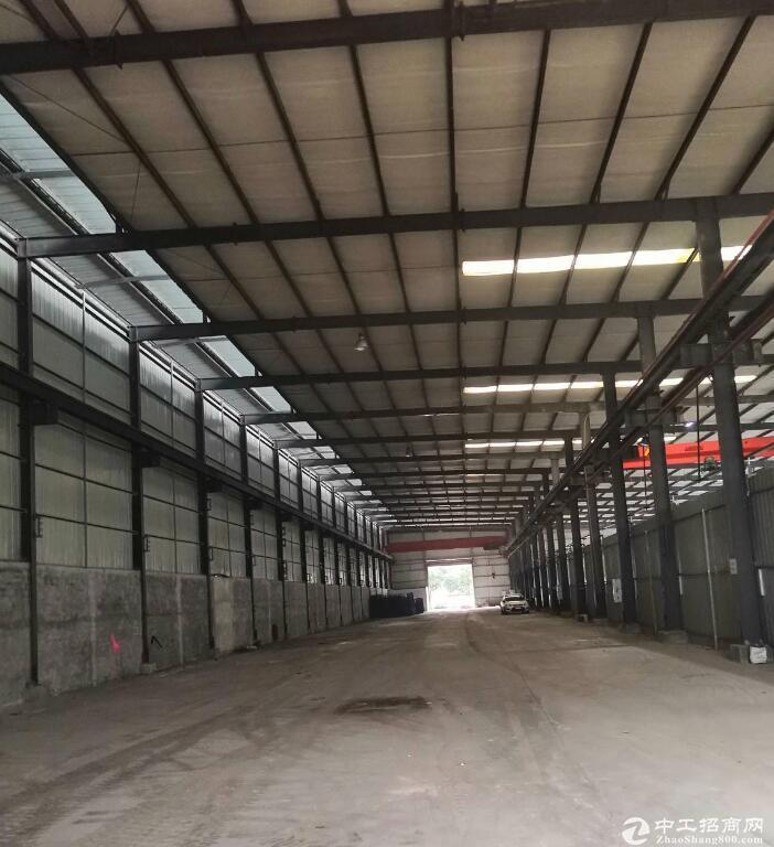 出租珞璜工业园单层2500平方带行车厂房
