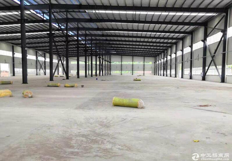 珞璜工业园7400平方独门独院厂房出租全新钢构