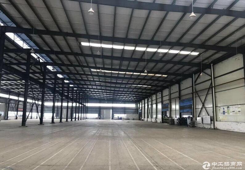 珞璜工业园单层钢结构厂房出租,独门独院,有2台10吨行车