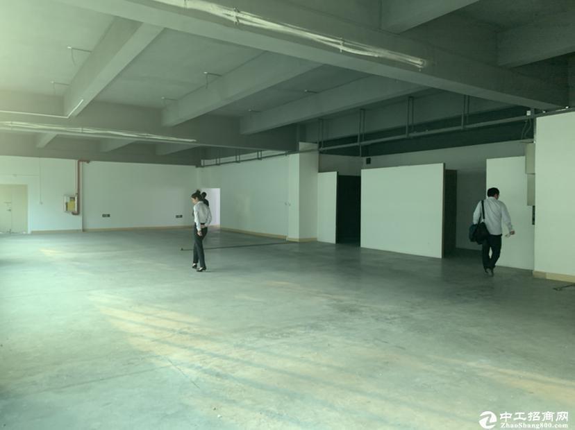 深吉联创科技园4楼精装修厂房可做仓库电商1200平出租可分租