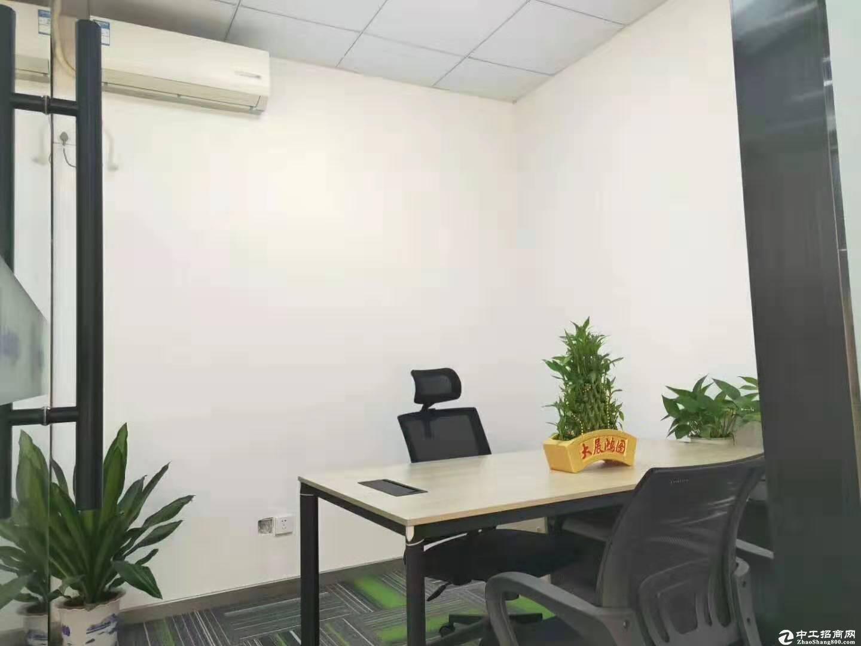 西丽地铁口150平精装办公招租配办公家私-图2