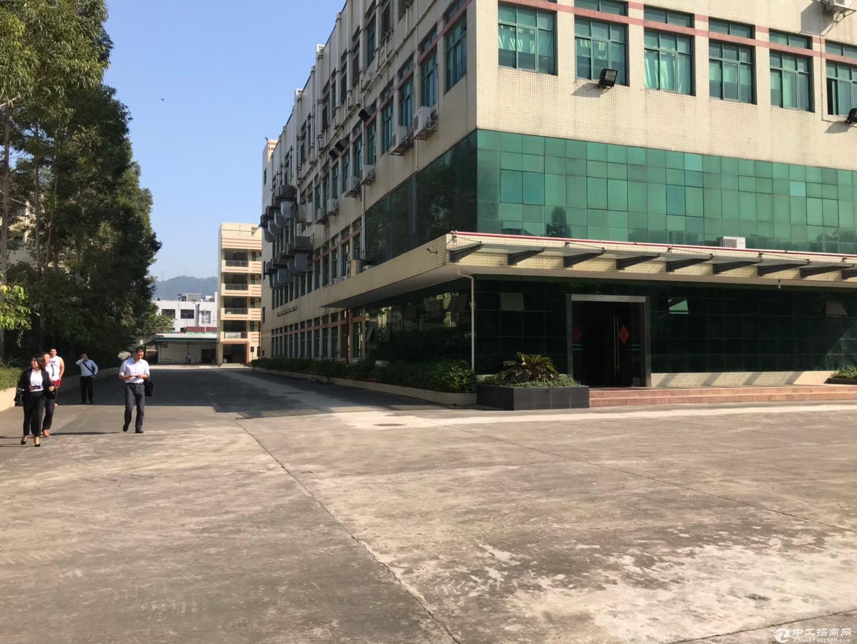 深圳区域原房东8959平米红本建筑面积独院厂房出售-图6