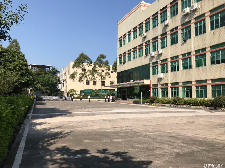 深圳区域原房东8959平米红本建筑面积独院厂房出售-图8