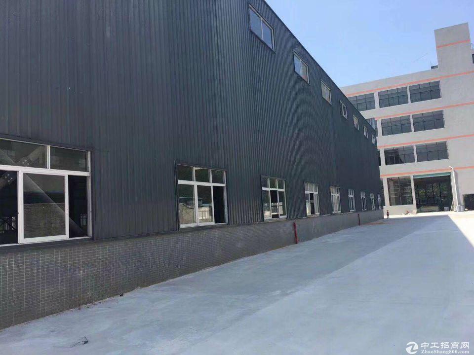 佛山高明区荷城新出单一层钢构厂房仓库3200方,可办环评