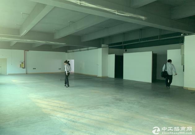 布吉联创科技园4楼精装修厂房可做仓库电商1000平出租