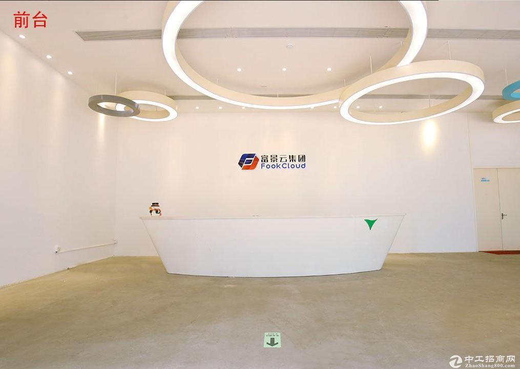 出租龙华区龙华壹城中心对面办公楼仓库厂房可分租停车方便
