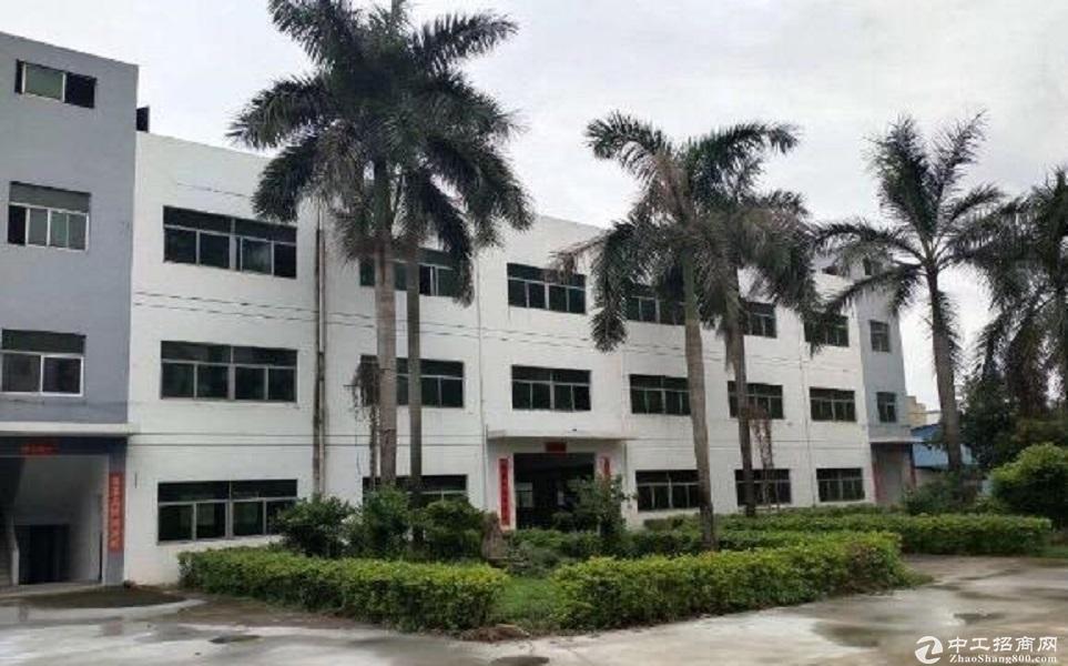 广东中山黄圃工业园4300平厂房仓库出租可分租可办环评环境好