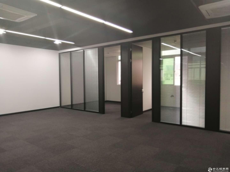 南山楼上150平豪装办公室,带空调,随时看
