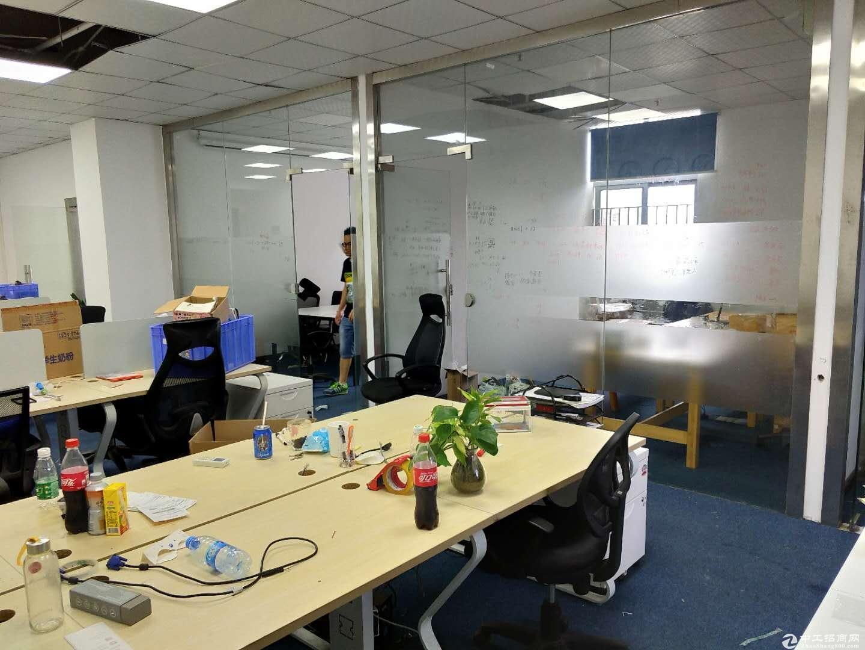 南山新出楼上精装办公室出租260平方家私齐