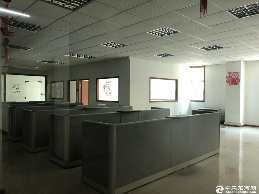 西丽阳光工业区楼上1300平带装修厂房招租