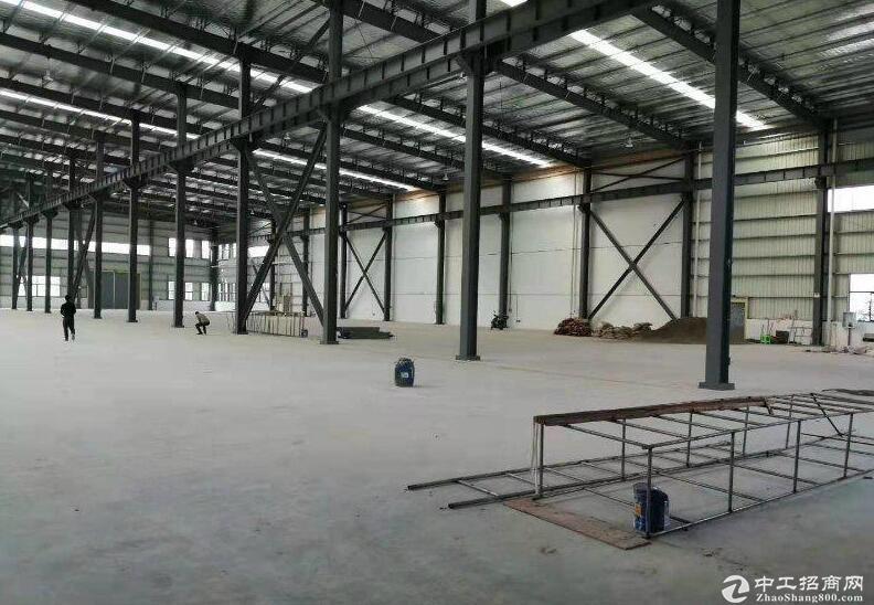 西彭全新钢结构厂房出租4800平  动力电充足