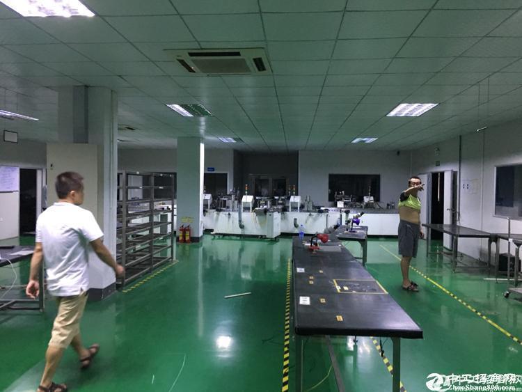 平湖原房东独院厂房仓库8000平米急租可分层租空地大交通便利