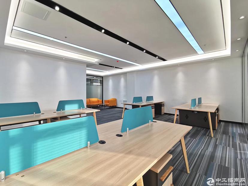 茶光地铁口340平米精装修厂房可做办公仓库