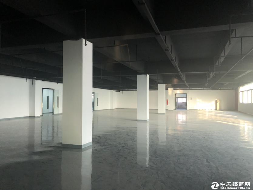 南山西丽地铁口新出1000平厂房租金38元可做办公生产仓库