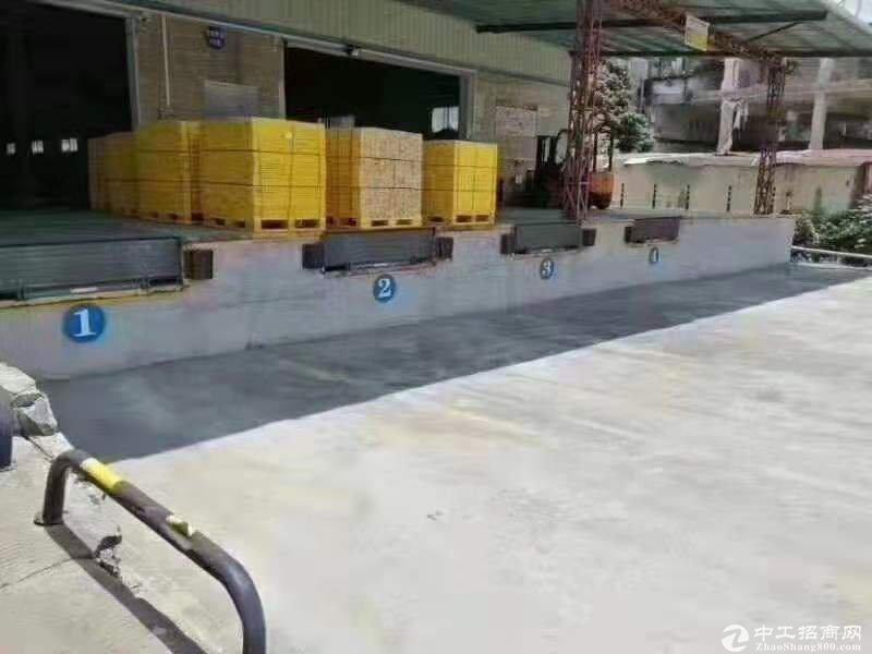 平湖新出10000平方8米高带卸货平台物流仓库出租