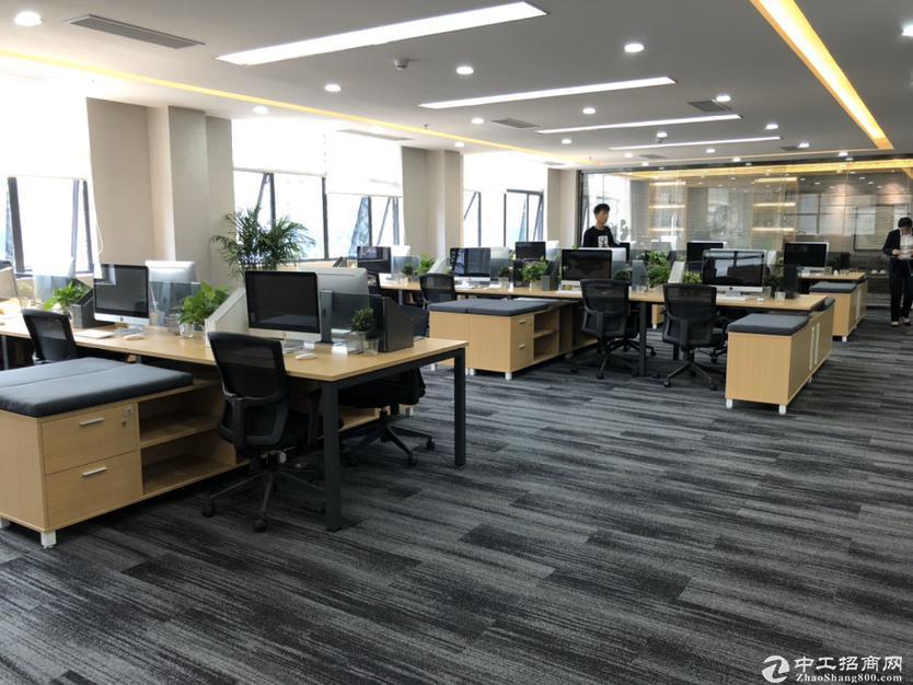 [特价]西丽大学城地铁口500平精装办公大小分租