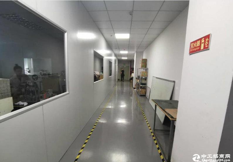 深圳龙华工业路新出厂房,可分租,100平起租