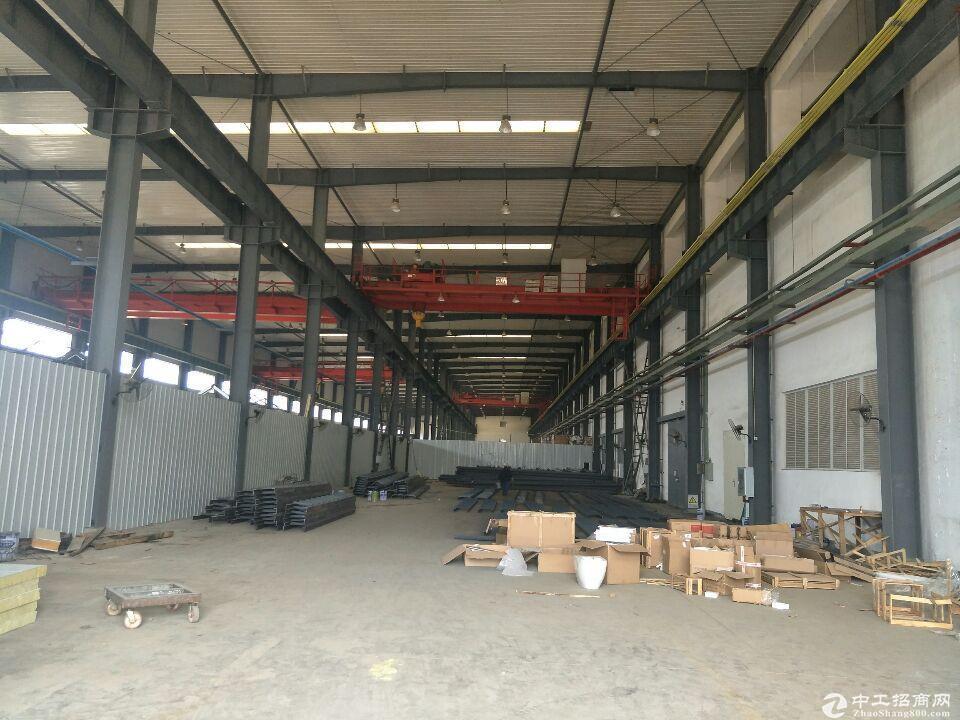 8成新钢构厂房,带5-10吨行吊 免物业水费。-图2