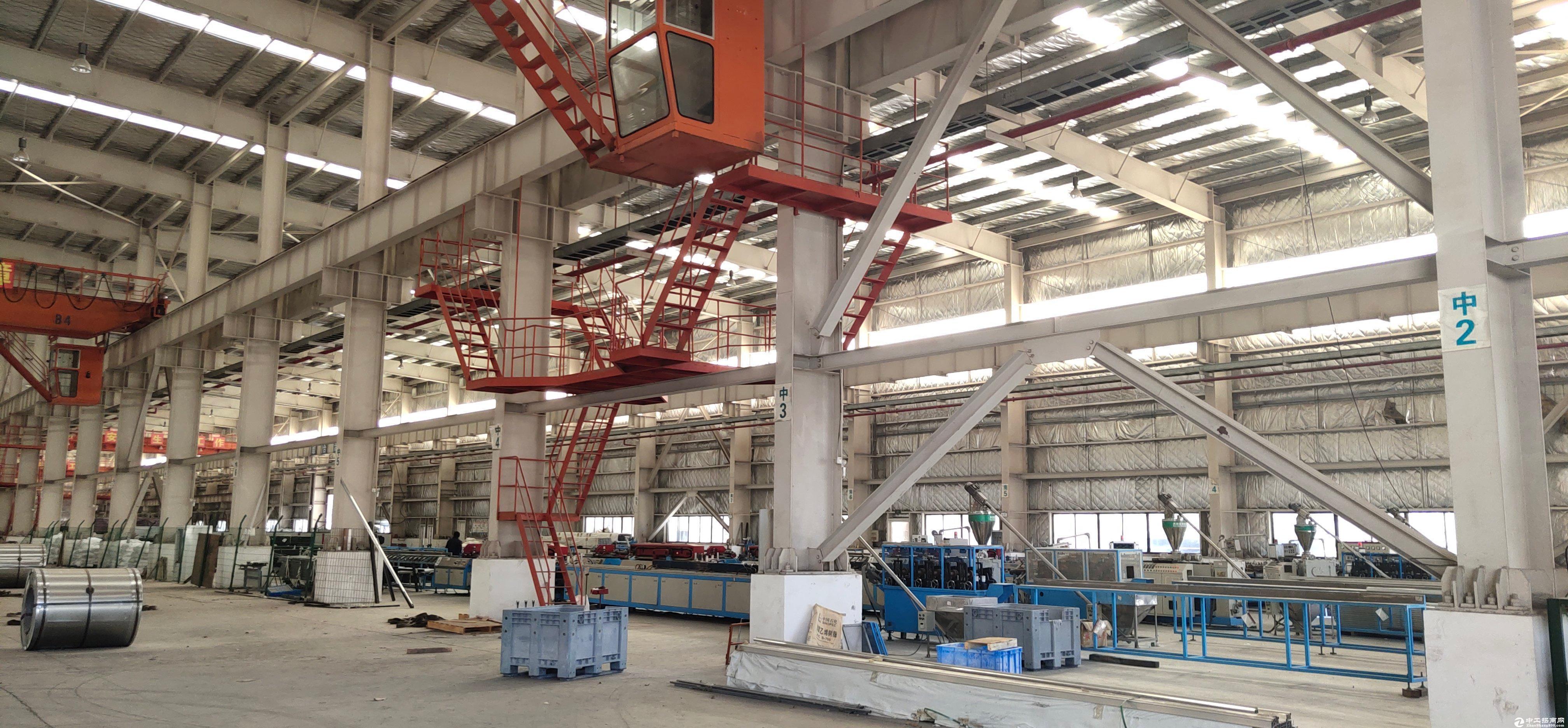 钢构厂房,带5-10吨行吊 带宿舍办公室