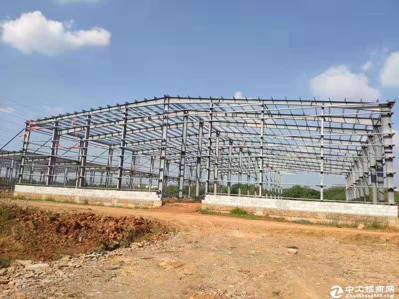 黄陂滠口,汉口北区域钢构厂房,高12米招商