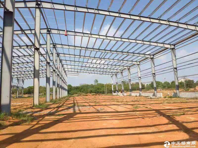 黄陂滠口,汉口北区域钢构厂房,高12米招商-图2