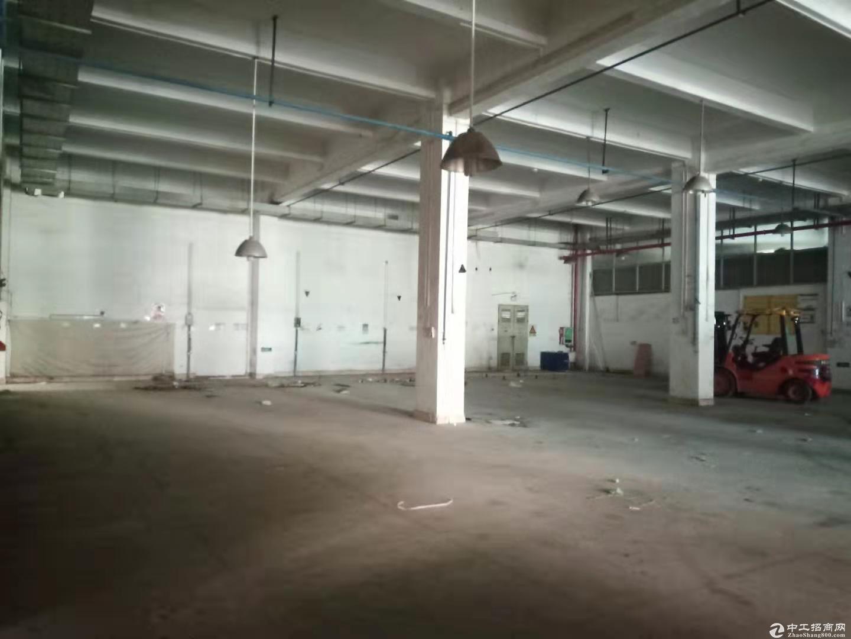 水官高速口原房东红本标准5.8米高一楼1100平方招租