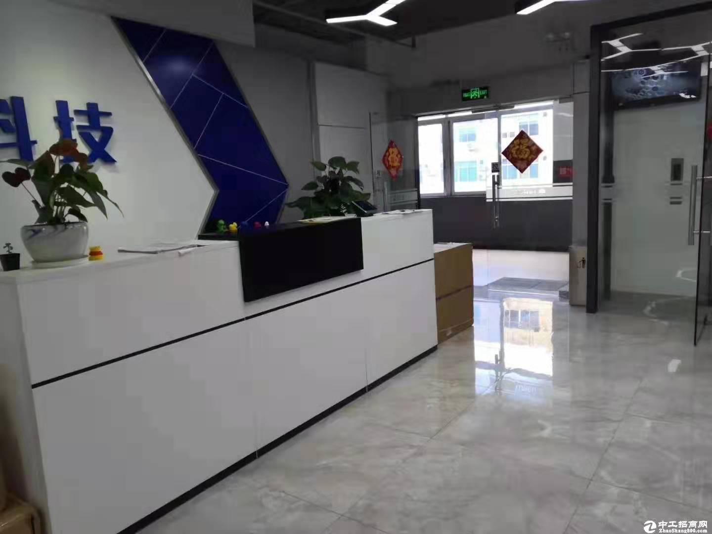 南山西丽茶光附近业主直租500平办公厂房出租