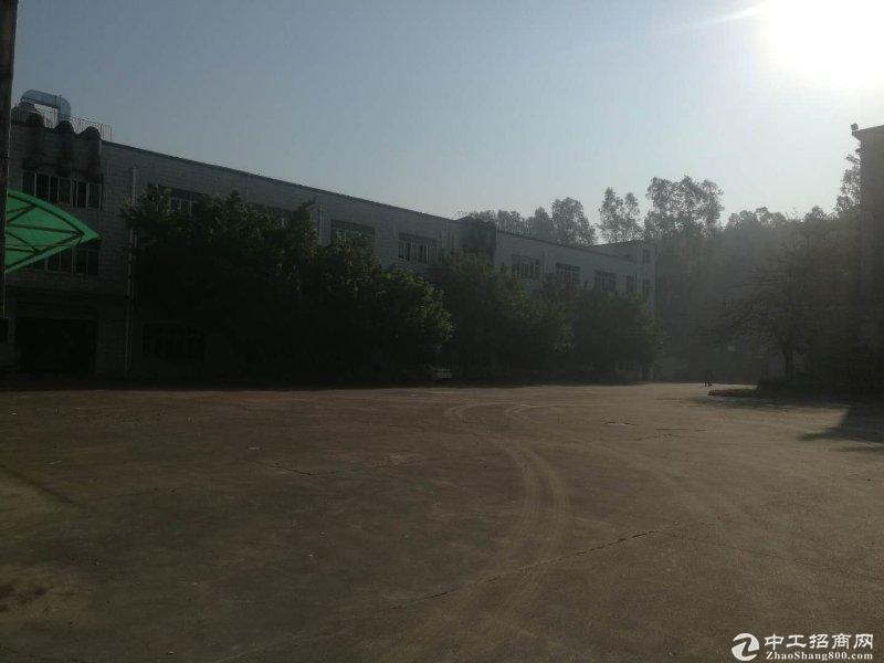 坪山大工业区原房东独院厂房出租12000平方,空地超大