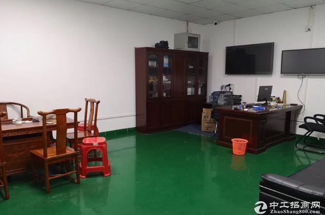 坪山工业区2楼1000平米精装修厂房出租,可办环评 现成装修