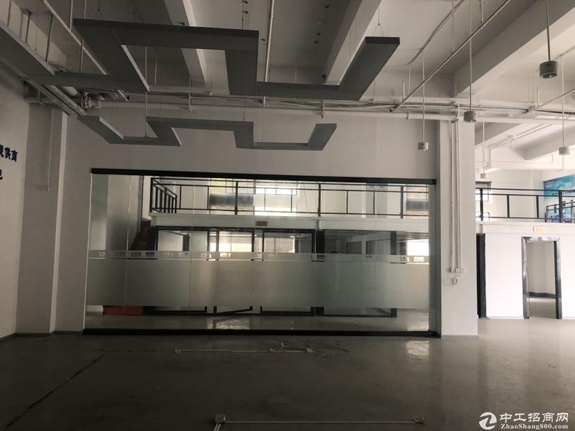 西丽沙河西路边精装修920平米厂房可做电商办公带-图5
