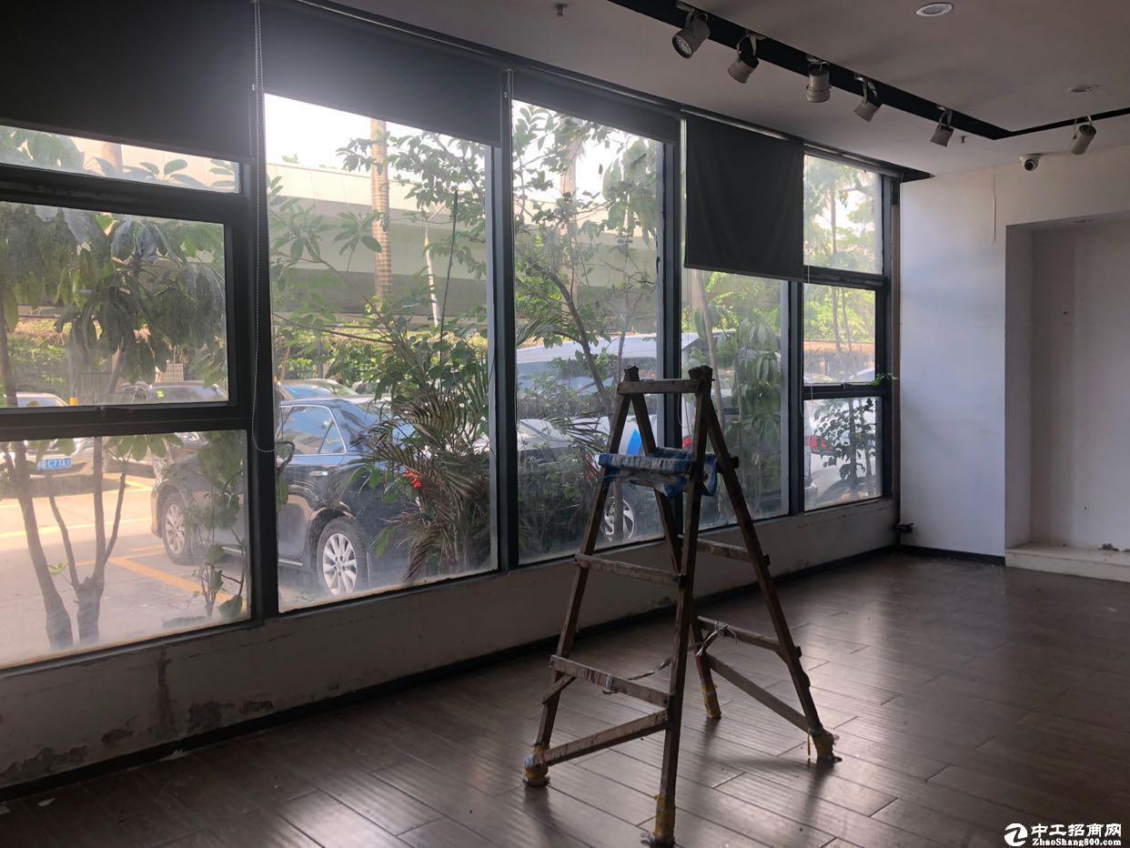 南山西丽茶光700平研发办公一楼复式园区好使用率超高