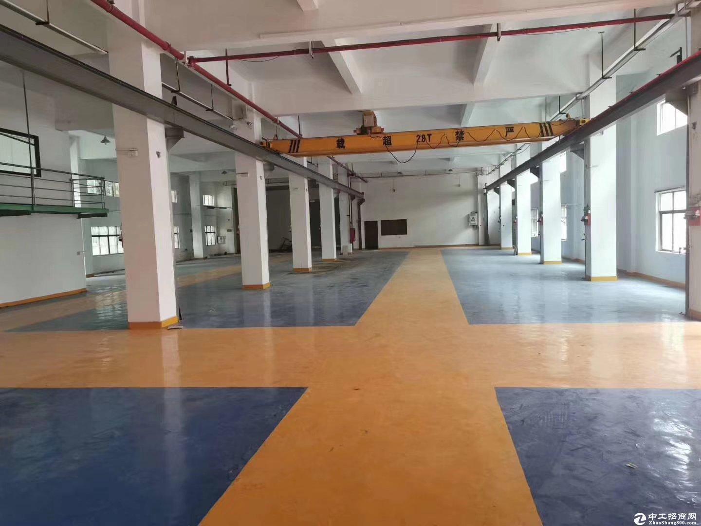 深圳西丽白芒关工业园区一楼重工业万博app官方下载900平米招租 特价