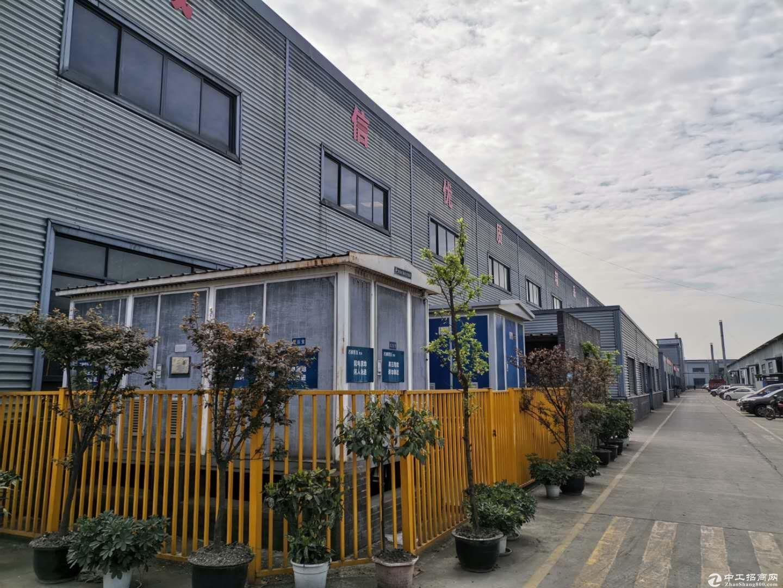 单层钢结构厂房出租带办公住宿