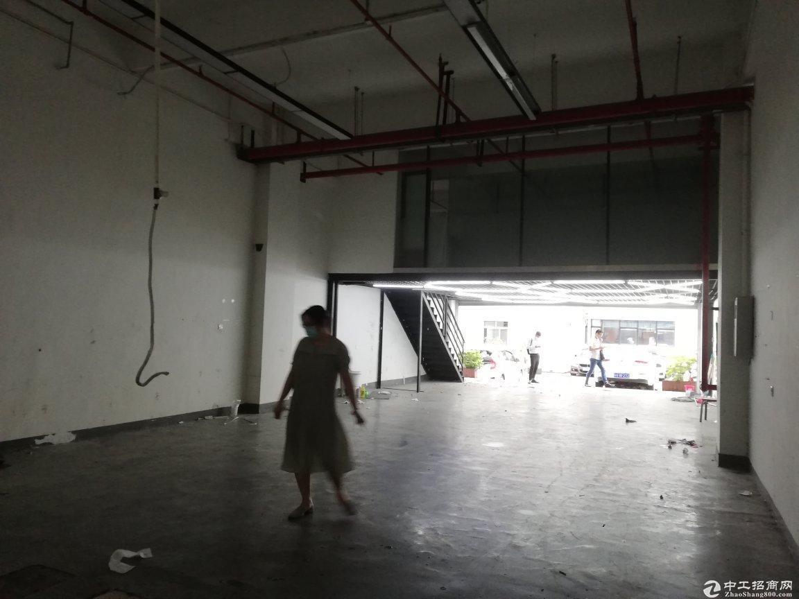 西丽珠光地铁口一楼350平带阁楼装修层高5米