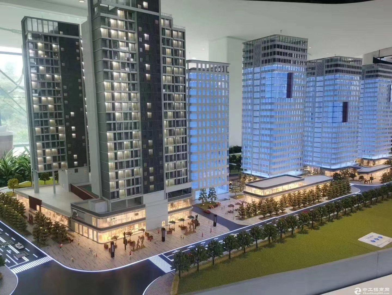 深圳市宝安区地铁口高速口创意园全新红本整层1200平厂房出售