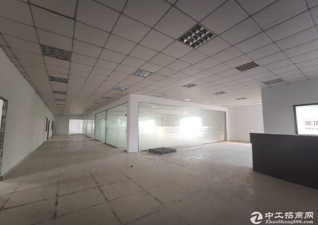 西丽原房东工业园100平起分租精装1000平仓库厂房出租