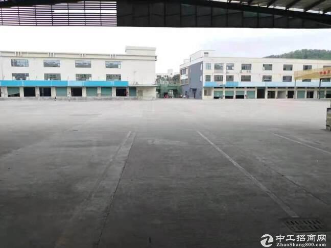 西丽沙河西路旁原房东4500平米带卸货平,喷淋仓库厂房出租