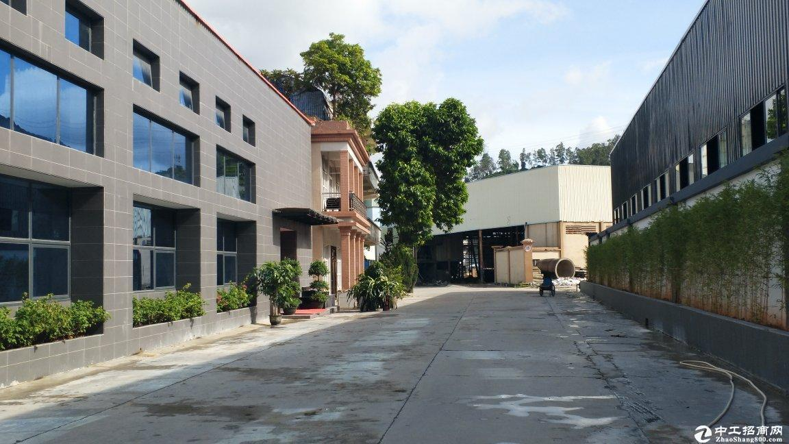 独院厂房招租30000平方9米高空地1万平高速口仓库分租