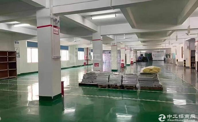 南山西丽阳光工业区新出楼上整层2080平方精装修厂房仓库出租