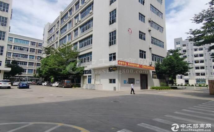 南山西丽高新智能产业园2180平带装修楼上厂房仓库出租