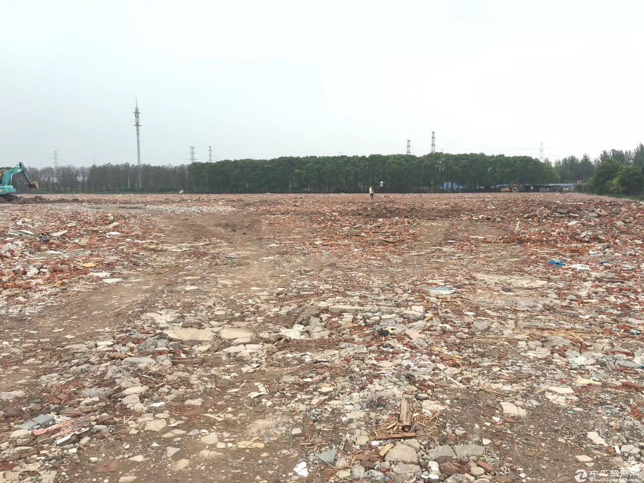 青浦汇金路80亩硬化好空地出租,面积可分割,证件齐全