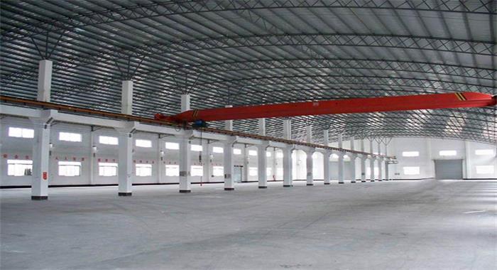 一层钢结构厂房外观