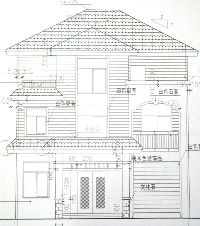 农村楼层家庭电路安装走线图