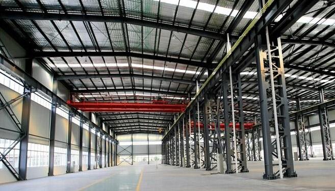 钢结构厂房效果图
