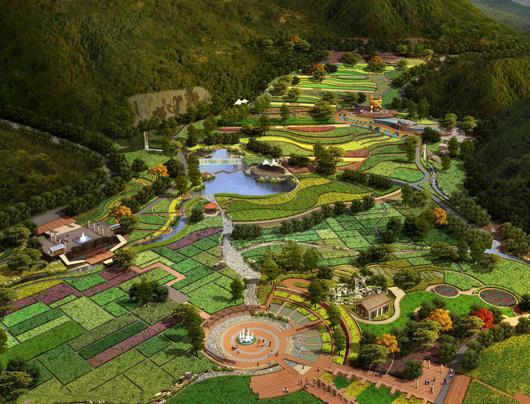 铜官山国家矿山公园规划范围和景点设计
