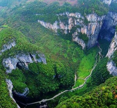 重庆武隆岩溶国家地质公园主要景点及交通路线推荐